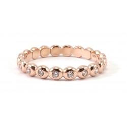 Ring Boccia Lux rosegold