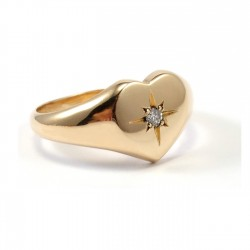 Ring Little Heart Diamond