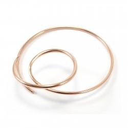 Ohrring Double Loop (single)