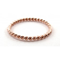 Ring Twist rosegold