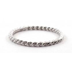 Ring Twist Silber