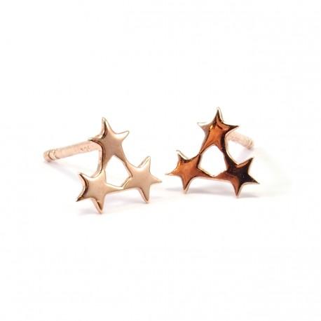 Ohrstecker Triple Star