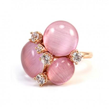 Ring Capri rosa