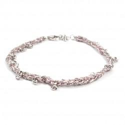 Armband Binja rosa