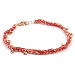 Armband Binja rot
